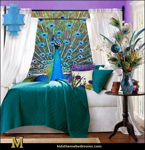 peacock decorations for home best 25 peacock decor bedroom ideas on pinterest