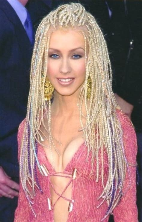 christina aguilera hairstyles amazing long braids pretty designs
