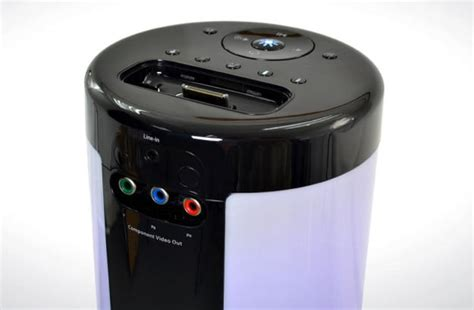 ihome light up speaker ihome ip76 review led color changing tower stereo