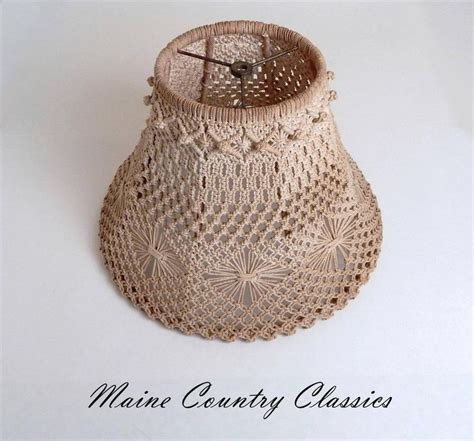 Macrame Crochet Patterns - 17 best images about ls and lighting on