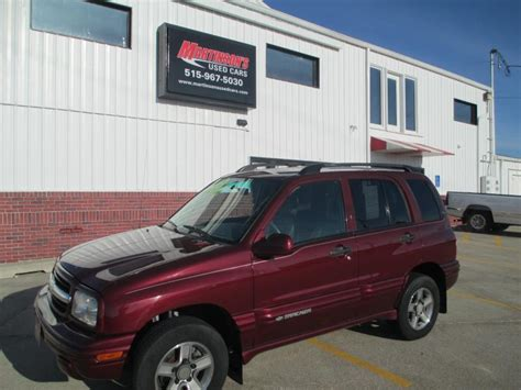 tracker boats des moines 2003 chevrolet tracker for sale in des moines ia 935779