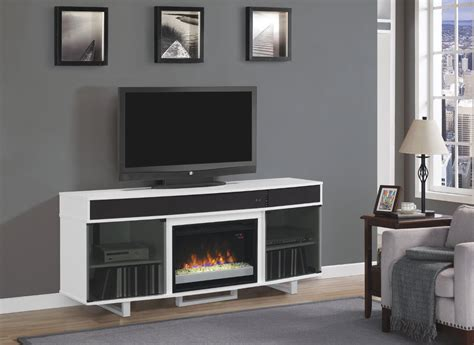 72 quot enterprise high gloss white entertainment center