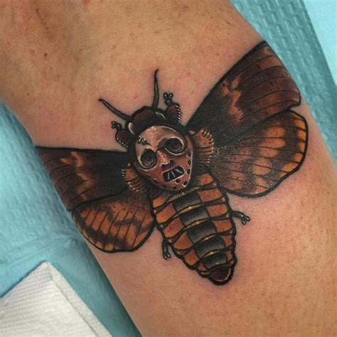 silence of the lambs moth tattoo best 25 horror tattoos ideas only on horror