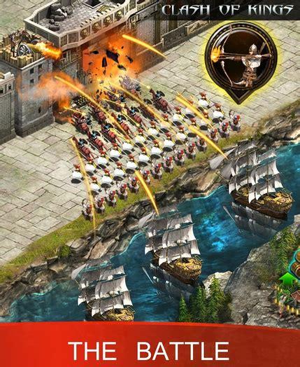 game membuat kerajaan android clash of kings game android strategi perang kerajaan abad