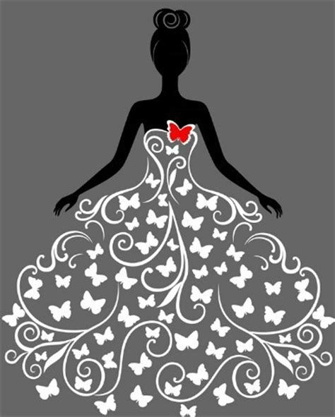 dress design vector free creative wedding dress design vector illustration 02