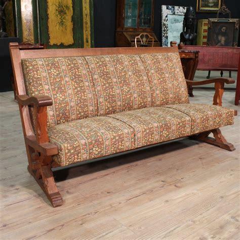 divani rustici legno divano rustico in legno di rovere