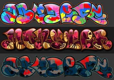 graffiti walls    graffiti alphabet bubble