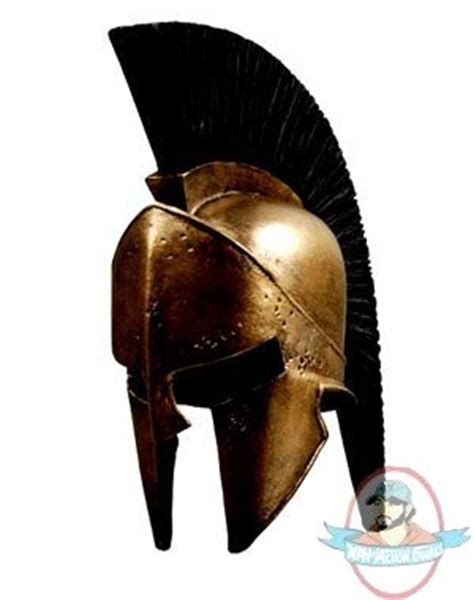 leonidas statue replica full spartan armor 804261 300 king leonidas spartan helmet prop replica by neca