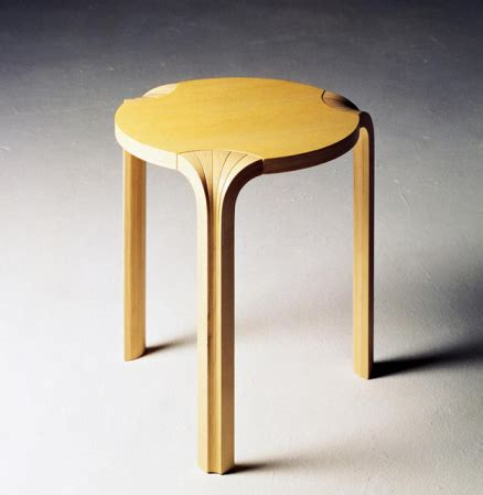 Tabouret Aalto by Alvar Aalto Pilier Du Design Finlandais Alvar Aalto