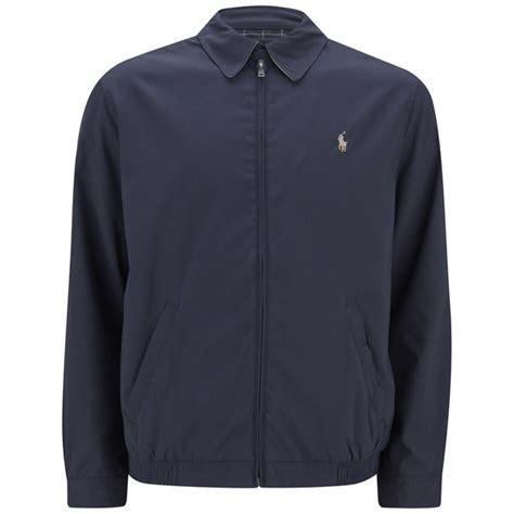 Jaket Parka Tipe A Polos Navy polo ralph s light weight zipped harrington jacket navy free uk delivery