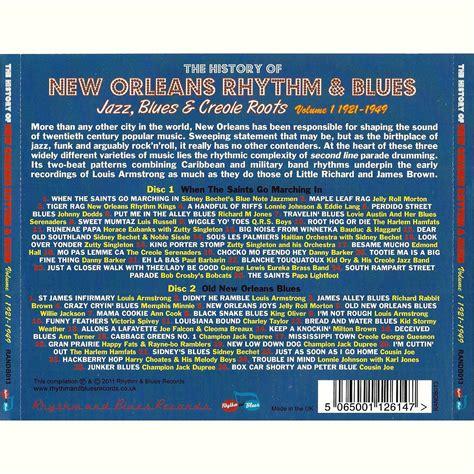 Cd The Rhythm 2 Album In 1 the history of new orleans rhythm blues vol 1 1921