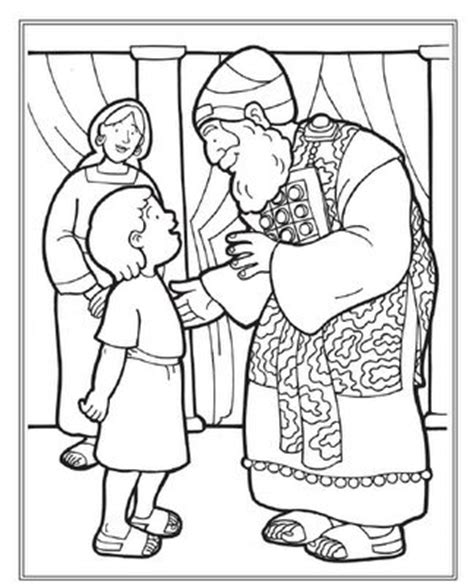 17 Best Ideas About Samuel Bible On Pinterest Call Samuel And Eli Coloring Page