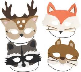 woodland animal masks template 301 moved permanently