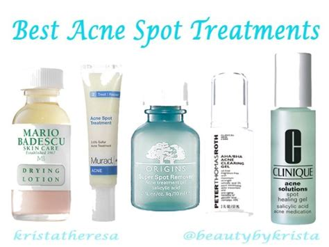 best acne treatment 25 best ideas about best acne spot treatment on
