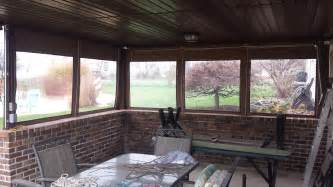 How Do Retractable Awnings Work Clear Drop Curtains Installed On A Porch Kreider S
