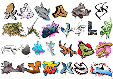 design huruf coc 30 photoshop graffiti brushes for urban themed artworks