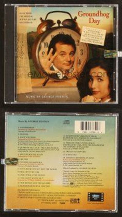 groundhog day ost 9d147 groundhog day soundtrack cd 09 harold ramis