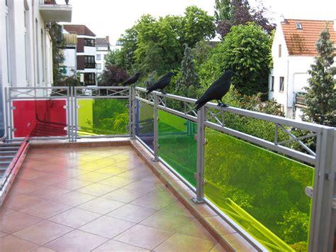 Pflanzen Für Wintergarten 2067 by Balkongel 228 Nder Aus Edelstahl Mit Buntem Glas Steiner