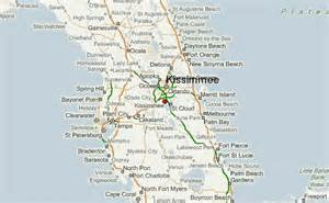florida map kissimmee kissimmee location guide