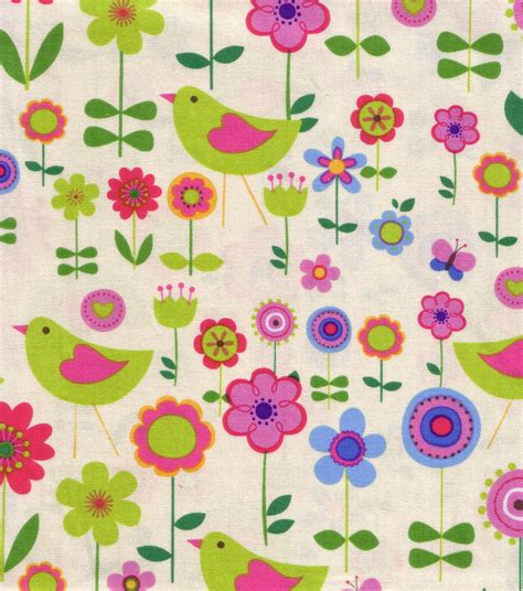 Novelty Quilting Fabric by Novelty Quilt Fabric Sunday Market Chickadee Jo