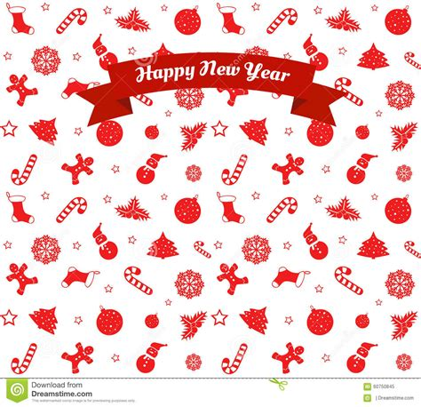 new year pattern ai pattern happy new year stock vector image 60750845