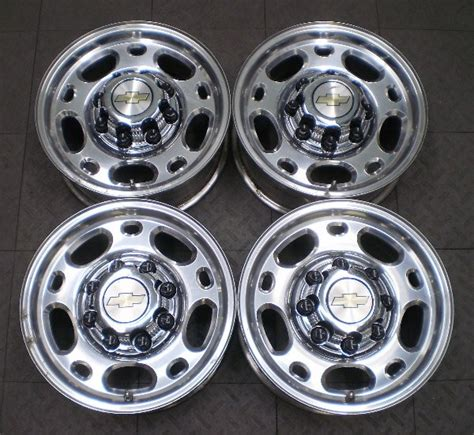 5079 chevy gmc 2500 3500 16 quot factory oem alloy wheels rims