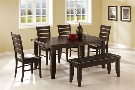 stunning dining tables with benches decor inspiring
