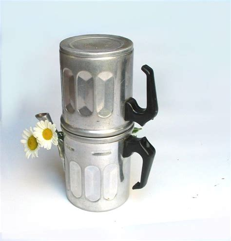 Elegante Percolator Coffee Teko Kopi Moka Pot Alumunium 9 Cup Black vintage aluminum coffee maker neapolitan coffee maker 6 cups collectibles 1940s made