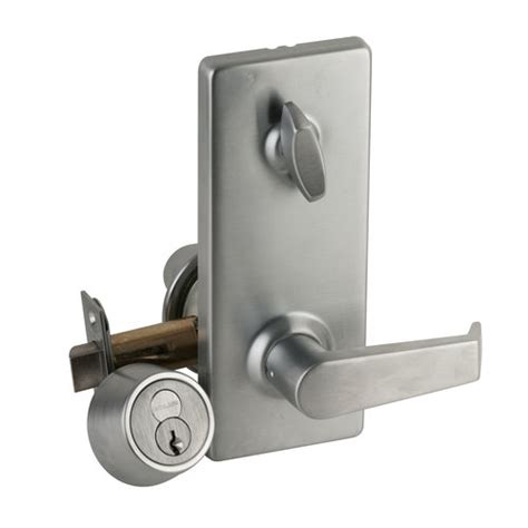 How To Change Commercial Door Lock by Schlage H110r Lev Levon Commercial Single Locking