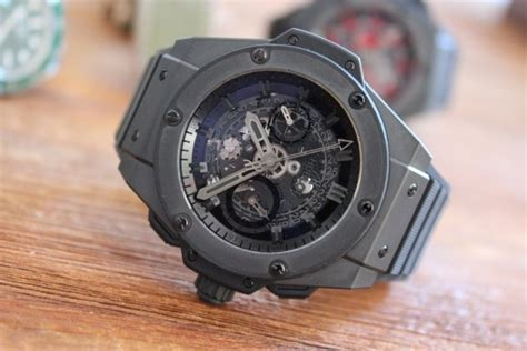 Hublot King Power Unico Black the hublot king power unico all black review and
