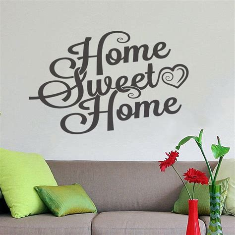 nursery wall decor stickers sweet home wall decor vinyl sticker decal livingroom