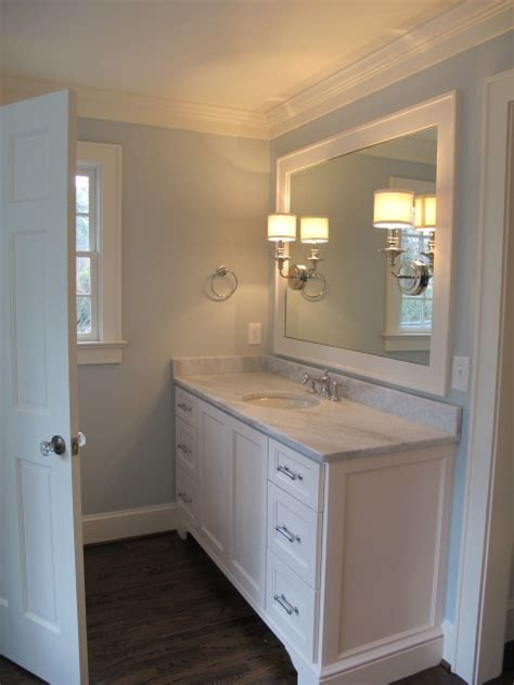 blue bathroom paint colors transitional bathroom benjamin pale smoke sherry hart