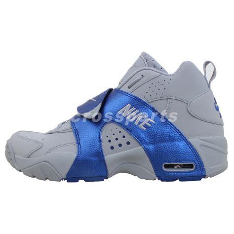 nike velcro basketball shoes nike air veer grey royal blue velcro mens basketball shoes