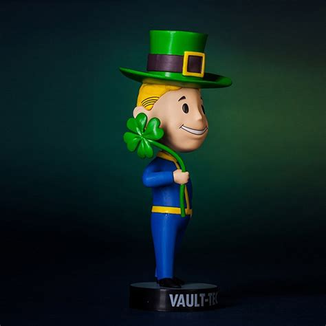fallout 3 bobblehead luck fallout 4 vault boy luck bobblehead cool stuff dude