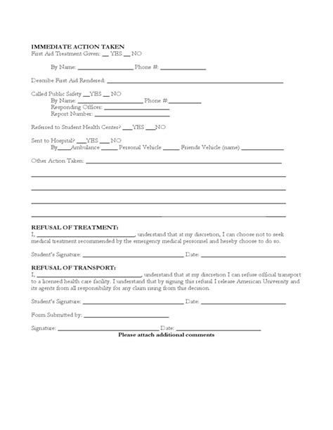 report form sle sports injury report form template 28 images sle
