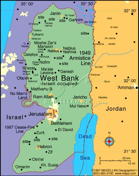 middle east map west bank bill s bible basics map resources