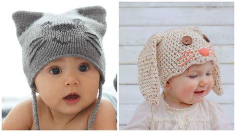 como tejer un gorro para bebe en dos agujas c 243 mo hacer un gorro para beb 233 en crochet con forma de conejo
