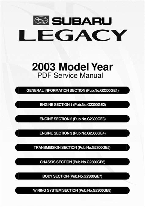 subaru legacy 2004 2009 factory service repair manual electric diagram pdf for sale 2004 subaru forester service manual diy factory service repair shop manual download