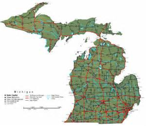 Michigan State Park Map by Michigan Map Online Maps Of Michigan State