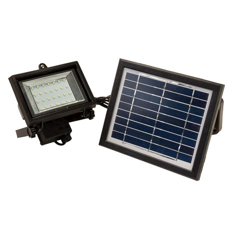 28 led solar powered outdoor security flood light