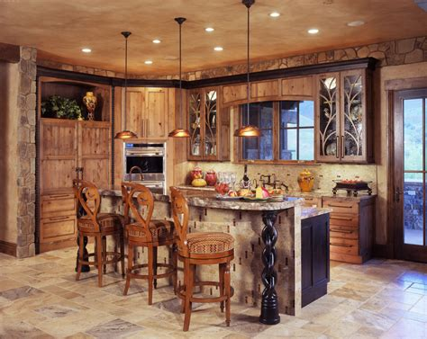 how to illuminate a kitchen with rustic kitchen lighting
