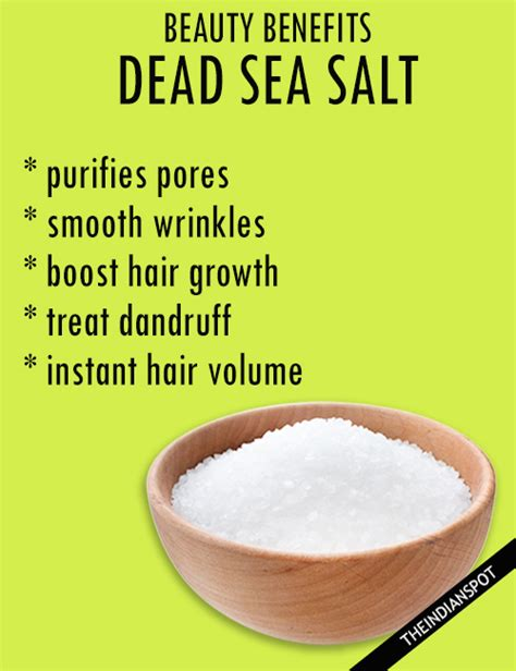 sea salt l benefits beauty benefits of dead sea salt for skin and hair the