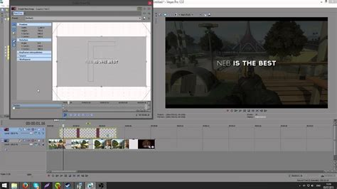 sony vegas pro transition tutorial sony vegas text transition tutorial youtube
