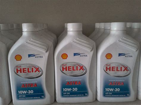 Oli Mobil Oli Mesin Shell Helix Astra 10w30 1l Shell Helix Astra Pelengkap Otomotif Review Brand
