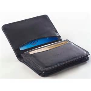 business card wallet clava leather wayfair