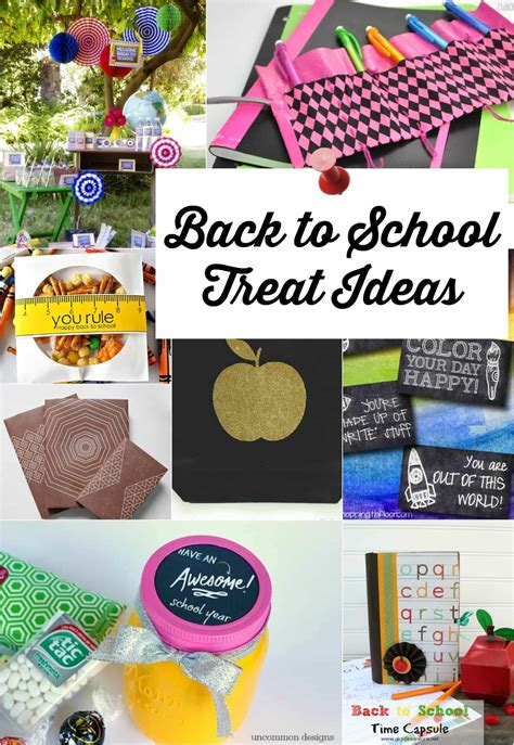 ideas for school 10 cool back to school treat ideas page 2 of 2