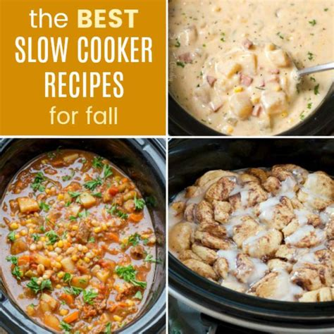 slow cooker comfort food 25 of the best slow cooker recipes for fall cupcakes
