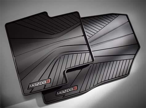 Oem All Weather Floor Mats by 2014 Mazda 3 Factory Oem Mazda All Weather Floor Mats Set