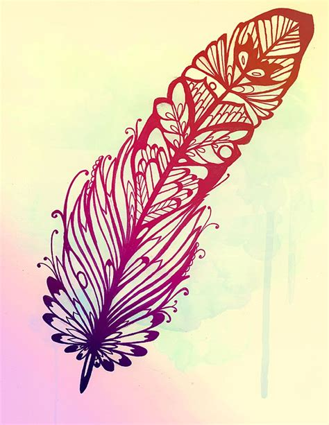tattoo feather artistic 154 best feather tattoos images on pinterest tattoo