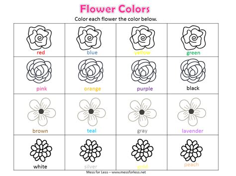 free spring preschool worksheets mess for less